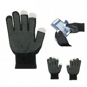 Touch Screen Gloves W/Grip Palm